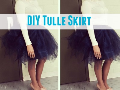 DIY Tulle Skirt: Perfect Bridal Shower Outfit | NATURALLY KAI