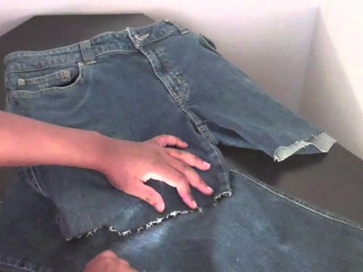 DIY: Turning Jeans into Shorts Tutorial
