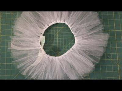 Easy No-Sew Tutu DIY- Whitney Sews