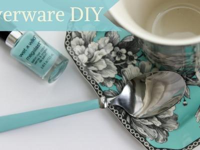 Easy Silverware DIY