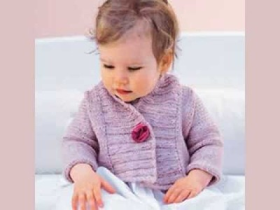 Free Knitting Pattern Childs Hooded Jacket