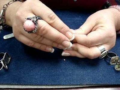 Glue In And Glaze Ring - Jewelry Instructions