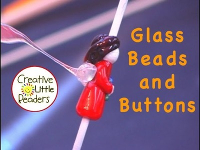 Handmade Glass Beads and Buttons