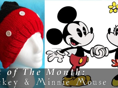 Hat of The Month | Nov. 2014 | Mickey & Minnie Mouse
