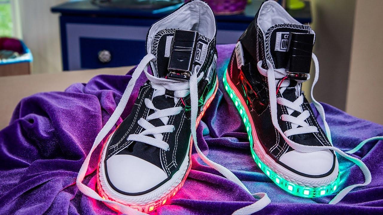 Home & Family - DIY Light Up Shoes