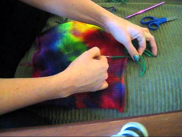 How to Add Fringe to Your Knitting with a Crochet Hook or a Yarn Needle