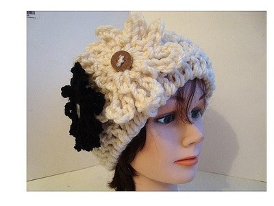 How to Crochet a CLOCHE HAT, adult size