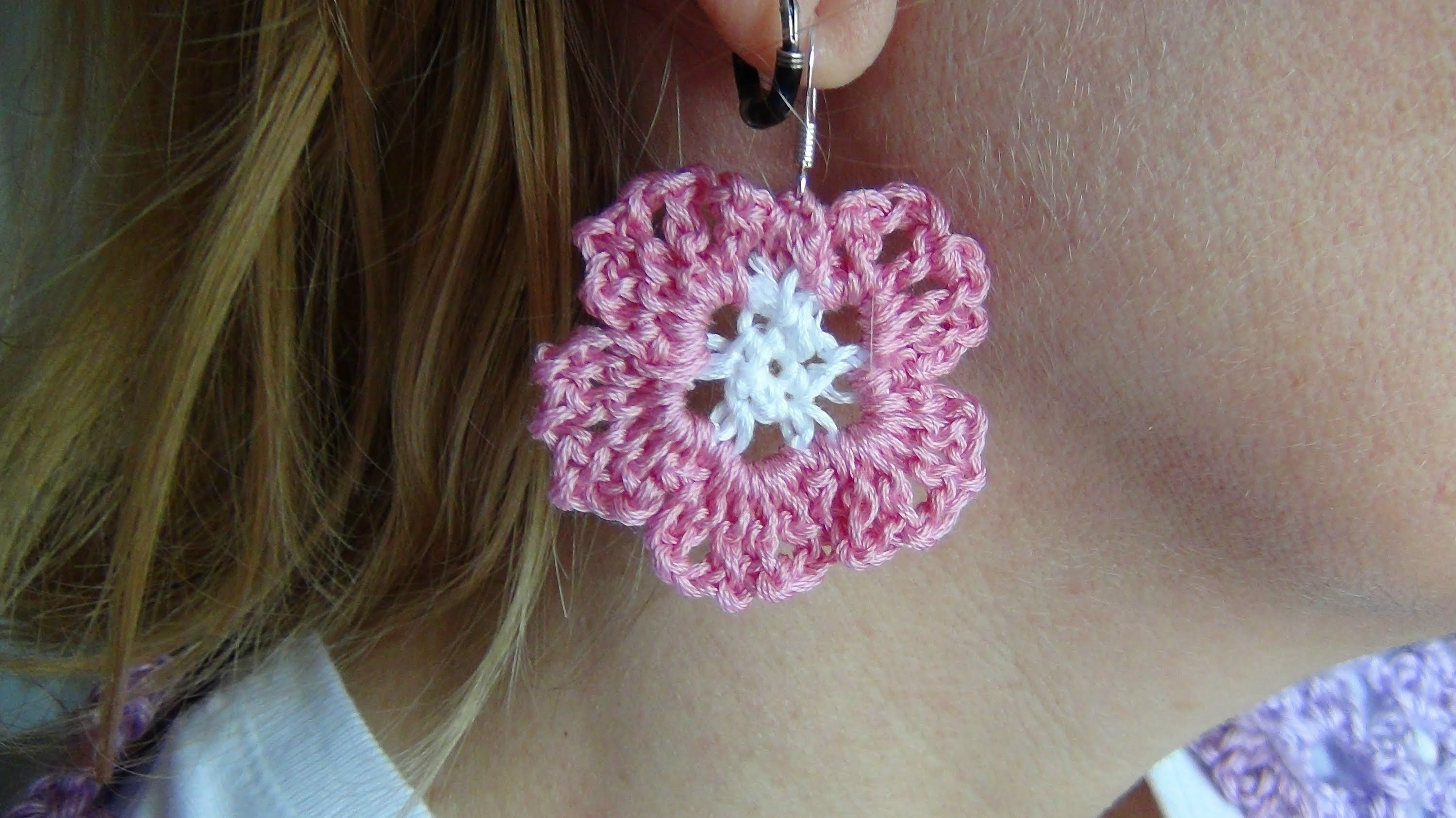 How to Crochet Earrings