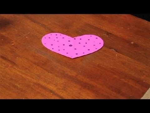 How to Decorate a Heart Shape : Valentine's Day Crafts