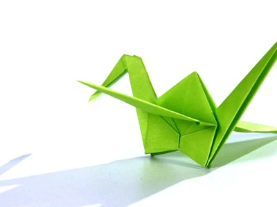 How to Make a Crane | Origami