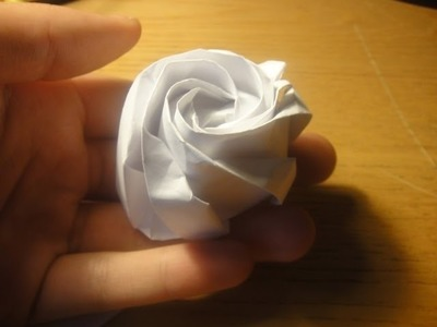 How to make an Origami Hexagonal Rose (alberlos)