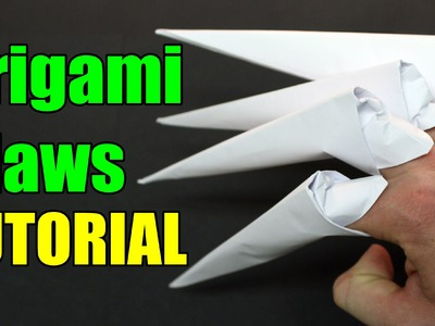 How to make origami claws - (Paper Claws)