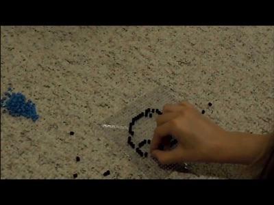 How to make: Perler Beads Kirby