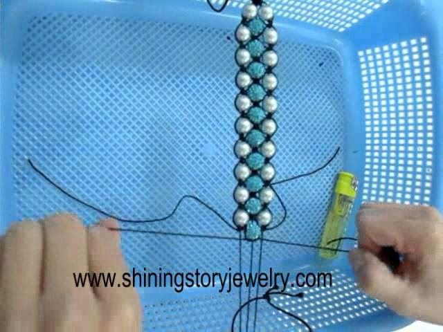 How to make triple shamballa shambala macrame bracelets step to step guide make it yourself