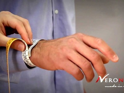 How to measure the cuff girth for a tailored shirt
