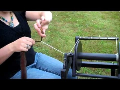 How to Spin Roving into Yarn
