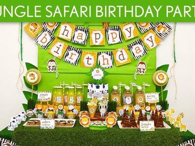Jungle Safari Birthday Party Ideas. Jungle Safari - B90