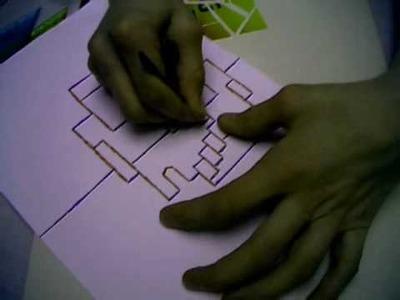Kirigami Tutorial - Italian Stairs