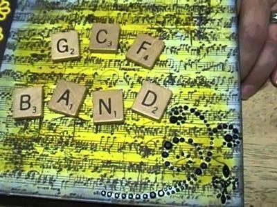 Lemon Flower Scrapbook Mini Album Craft Share:  Noreen's Kitchen