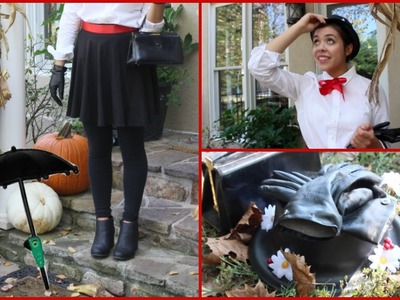 Mary Poppins DIY Costume and Makeup Tutorial!