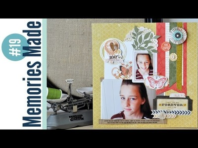 Memories Made #19 Scrapbooking Process Video: I Will Always Love You