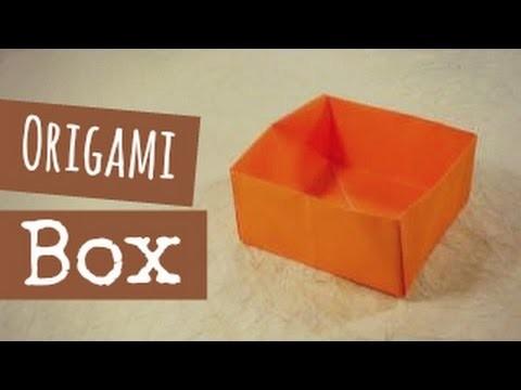 Origami Box Instructions