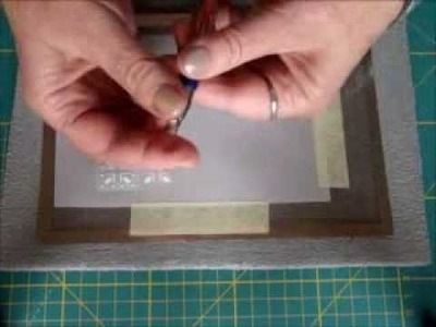 PARCHMENT CRAFT EMBOSSING, PERFORATING ON GRIDS BY EWA MARIA PIECHOTA