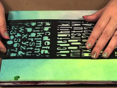 Scrap Time - Ep. 773 - Art Journaling with Lifestyle Crafts Alphabet Dies