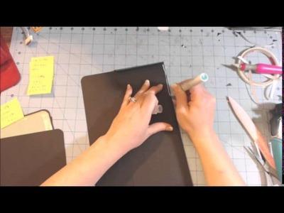 Scrapbook Folder Folio Tutorial part 2