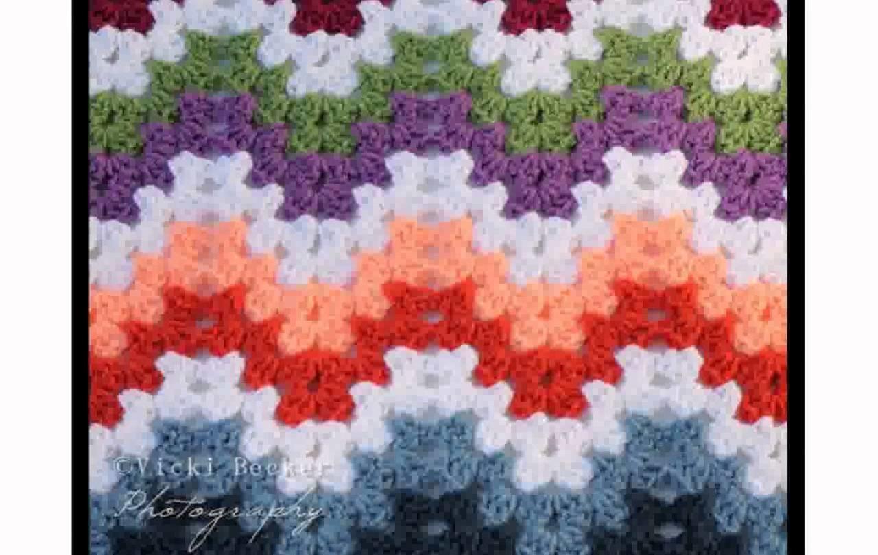 Simple Crochet Afghan