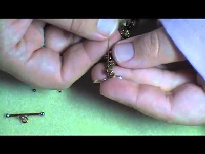 Spiraling Fire-Polished Bracelet Part 2