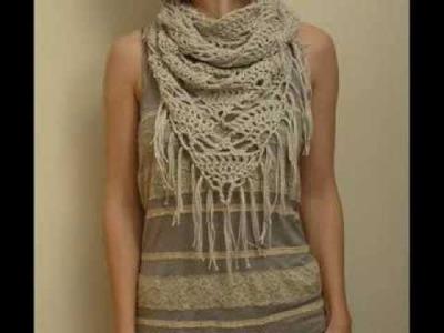 Triangle Cowl Pattern - Crochet Pattern Presentation