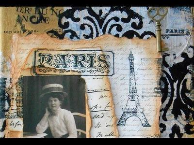 Vintage Paris Canvas