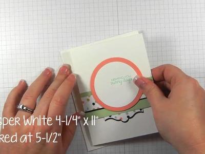 Want an Easy DIY Card Making Idea?