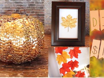$10 DIY Fall Decor! + Tips to have more fall in your life!