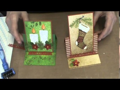 #105 How to use Spectrum Noir Colored Pencils and Elizabeth Crafts Dies by Scrapbooking Made Simple