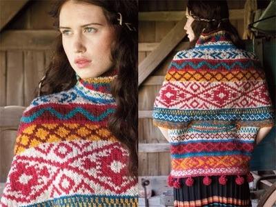 #23 Patterned Tunic, Vogue Knitting Fall 2010