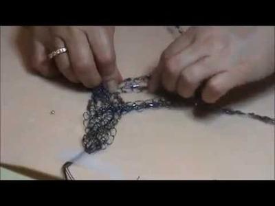 AMETHYST HEX BEAD WIRE CROCHET NECKLACE ( PART 2)