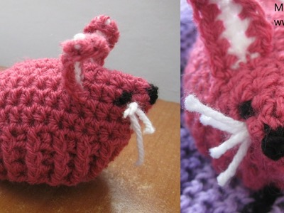 Bunny Egg Cozy - Crochet Tutorial - Easter Crochet