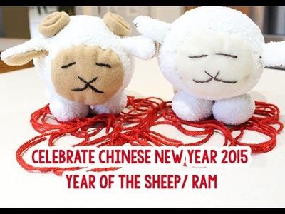 Chinese New Year: DIY Sheep and Ram Sock Plushie