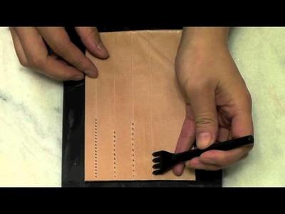 Craft Sha 3mm 4 Prong Diamond Hole Punch for Leathercraft