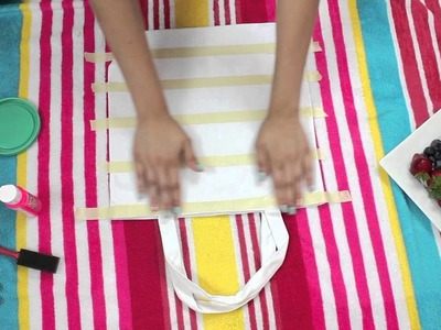 DIY Beach Bags + What's in my Beach bag! (BuyorDIY)