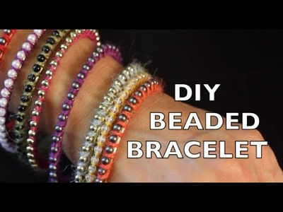 DIY Bracelet | How To Make A Beaded Bracelet