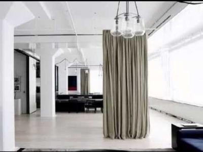 DIY Hanging room divider ideas