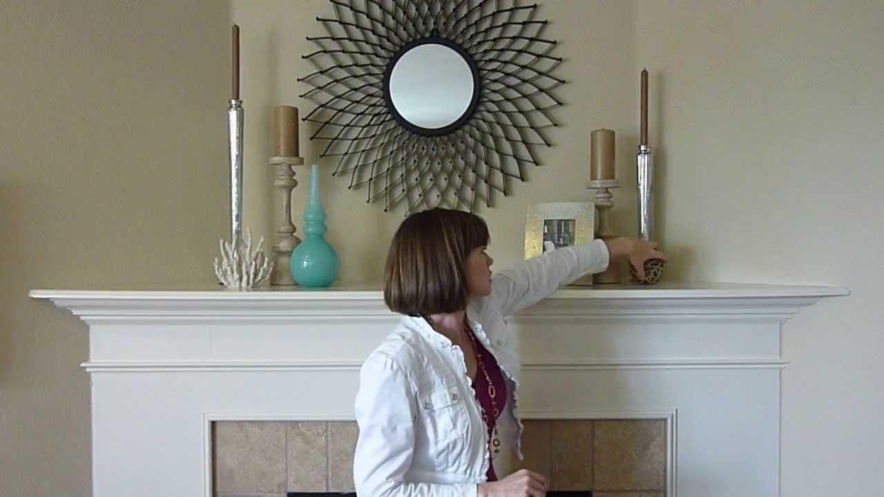 DIY Home Decorating Ideas - Coastal Mantle Decorations