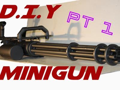 DIY Minigun tutorial. Part 1 - The barrel