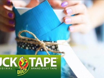 Duck Tape Crafts with LaurDIY: How to Make a Plant Holder