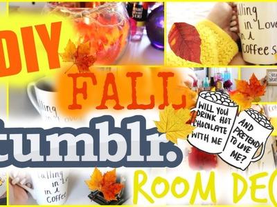 Easy & Simple DIY Fall Tumblr Room Decor♡