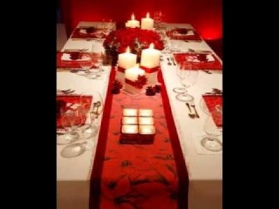 Easy diy christmas table decorating ideas