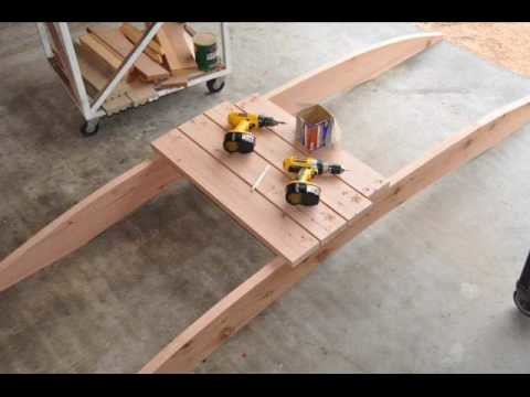 How to Build a Arched Garden Bridges,  pond,Filter, build, construction,559-325-2597